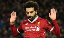 Cuộc đua Chiếc giày vàng châu Âu: Salah 'đấu tay đôi' với Messi