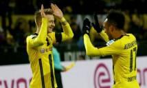 Reus và Aubameyang tỏa sáng, Dortmund làm gỏi Gladbach