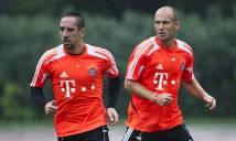 Bayern được quyền mơ ăn 3 vì còn đó Rob-bery