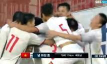 Chia điểm với đội chủ nhà, U19 Việt Nam tạo kỳ tích tại đất Hàn Quốc