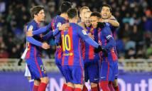 Neymar khai hỏa, Barca phá tan lời nguyền tại Anoeta