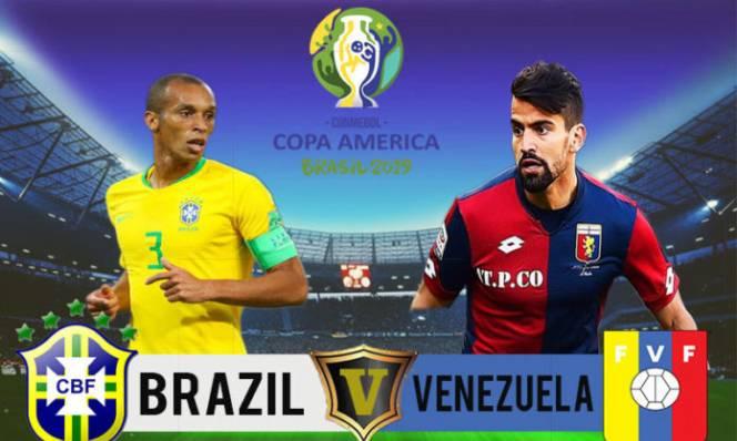 Nhận định bóng đá Brazil vs Venezuela, 07h30 ngày 19/06: Rực lửa vũ điệu Samba