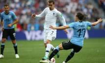 Varane và Griezmann cùng ghi bàn, Pháp hạ Uruguay, kiêu hãnh tiến vào bán kết