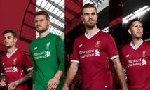 Liverpool chính thức ra mắt áo mới mùa 2017/18