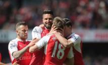 Giroud rực sáng, Arsenal vùi dập Aston Villa ngày hạ màn