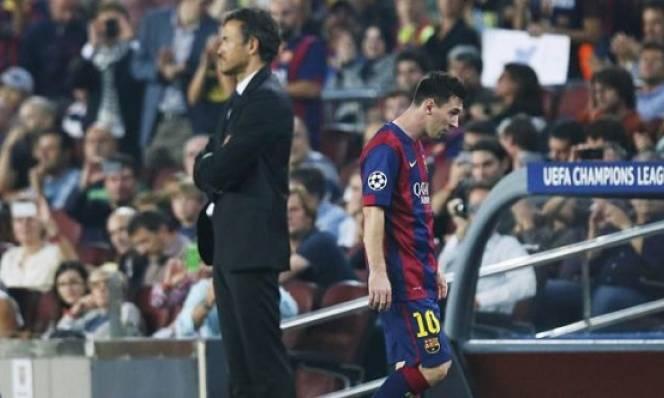 CỰC NÓNG: Messi muốn Barca 'tống cổ' Enrique