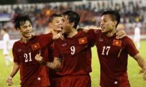 Tuyển Việt Nam vượt Thái Lan trên bảng xếp hạng FIFA tháng 10/2016