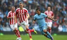 Nhận định Man City vs Stoke City 21h00, 14/10 (Vòng 8 - Ngoại hạng Anh)