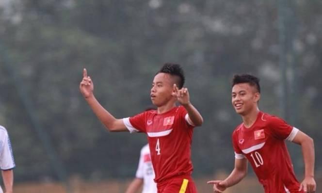 Vùi dập U16 Myanmar, U16 Việt Nam khẳng định sức mạnh ở giải Đông Nam Á