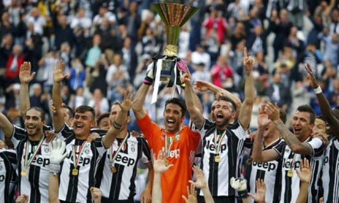 Vòng 38 Serie A: Juve đại thắng ăn mừng chức vô địch