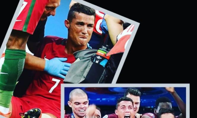 Ronaldo được chị gái ví như...chúa Jesus