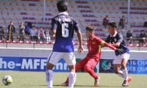 Thuyền trưởng U16 Việt Nam hú hồn khi thắng Campuchia
