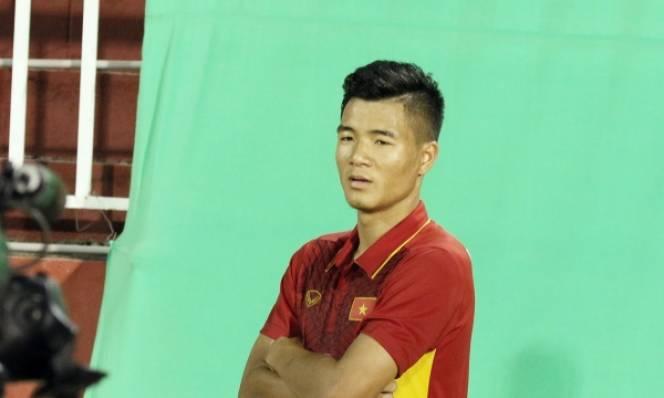 Hà Đức Chinh lên tiếng về chuyện không thể lên tuyển Việt Nam