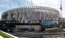 Sân nhà sắp xây xong, CĐV Tottenham 'khóc thét' vì sung sướng