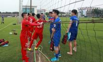 Công Phượng, Tuấn Anh...truyền lửa cho đàn em trước trận gặp U20 Argentina