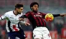 Milan vs Crotone, 18h30 ngày 04/12: Không có bất ngờ