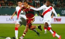 Venezuela vs Peru, 06h30 ngày 24/3: Trận cầu thủ tục