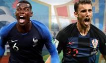 Thông tin lực lượng chung kết World Cup 2018, Pháp vs Croatia: Perisic chấn thương