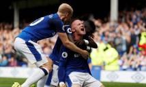 Everton 1-0 Stoke: Rooney tưng bừng ngày lập kỷ lục 'khủng'
