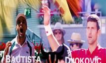 Djokovic gục ngã trong trận đấu thắng hoa của Agut