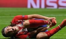 Thắng dễ Lokomotiv , Atletico Madrid nhận hung tin từ trụ cột