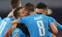 Napoli trước cơ hội lập kỷ lục chưa từng có tại Champions League