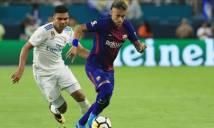 Sau Ramos tới lượt Casemiro chào đón Neymar đến Real