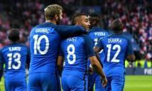 Trực tiếp Pháp vs Albania: Tấm vé đầu tiên