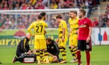 Aubameyang tịt ngòi, Dortmund bất lực trước 10 người Freiburg