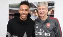 Aubameyang nói gì về quyết định chia tay Arsenal của HLV Wenger?