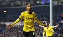 Aubameyang cán mốc 100 bàn cho Dortmund