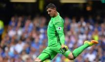 Courtois bất ngờ ngưng đàm phán gia hạn với Chelsea
