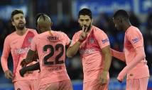 Barcelona tiến gần đến ngôi vương sau chiến thắng 2-0 trước Alaves