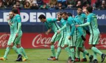 Messi lập cú đúp, Barca thắng dễ Osasuna