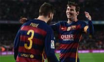 Messi dửng dưng trước thành tích ghi 100 bàn cùng Suarez và Neymar