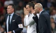 Tiếp tục để Bale dự bị, Zidane vẫn thấy... bình thường