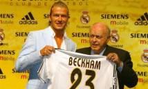 Beckham từ chối làm đại sứ cho Real Madrid