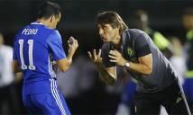 Conte vui vì Pedro vẫn hay như lúc còn ở Barca