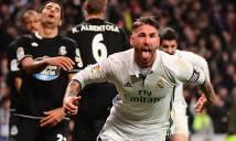 Ramos lại sắm vai người hùng, Real hút chết tại Bernabeu