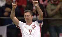 Lewandowski 'sánh ngang' Ronaldo sau khi lập hattrick vào lưới Đan Mạch