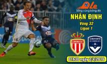 Monaco vs Bordeaux, 01h30 ngày 02/04: Bảo vệ ngôi nhì