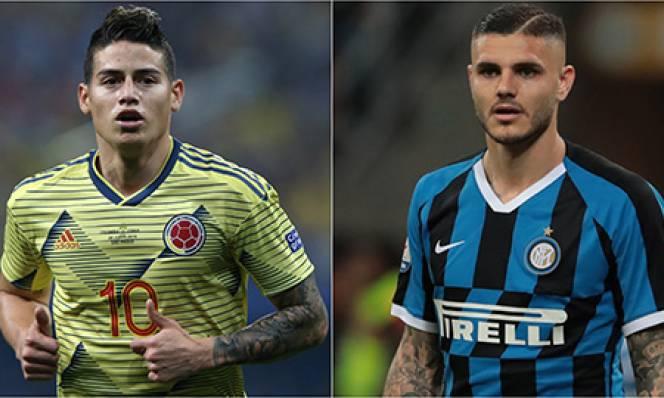 SỐC: Napoli phủ nhận chiêu mộ Icardi và James