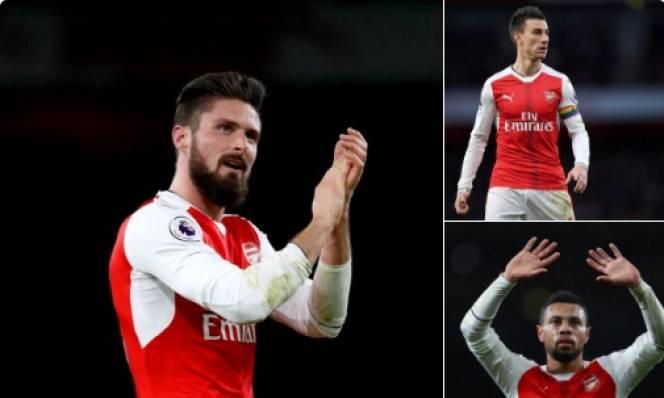 NÓNG: Arsenal ký 3 bản hợp đồng mới