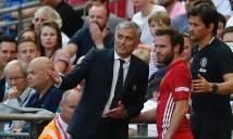 Mourinho nói gì về việc thay Mata sau 30 phút?