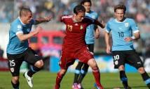 Trực tiếp Uruguay 0-1 Venezuela: Bất ngờ vượt lên