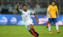 Sao trẻ Liverpool lập hat-trick, U17 Anh hạ U17 Brazil đoạt vé vào chung kết U17 thế giới