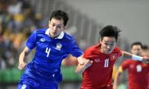VĐ Futsal Đông Nam Á: ĐT Việt Nam đụng Thái Lan ngay ở vòng bảng