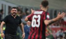Bị đội bóng chót bảng đánh bại, Gattuso thất thần trên băng ghế chỉ đạo