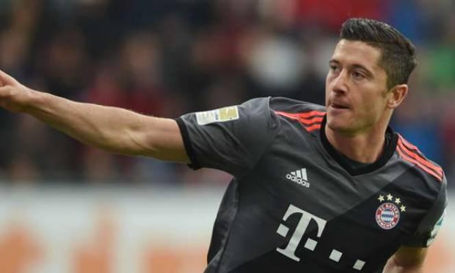 Song sát Robben - Lewy rực sáng, Bayern giành chiến thắng dễ dàng trước Augsburg