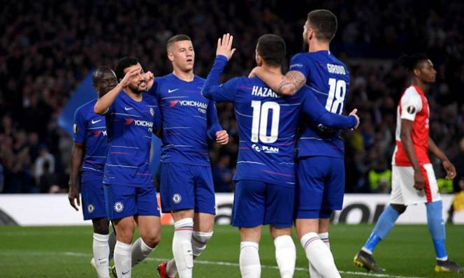 Vào bán kết Europa League, Chelsea lập kỷ lục đáng nể cho bóng đá Anh